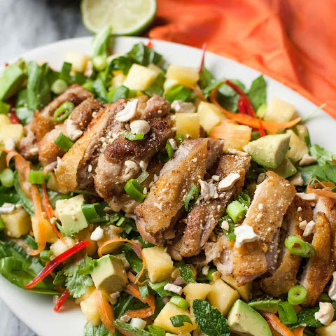 Crispy Chicken Thai Salad