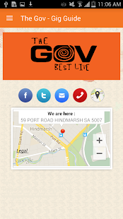 The Gov - Gig Guide - screenshot