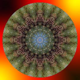 Kaleidoscope by Zsuzsanna Szugyi - Digital Art Abstract