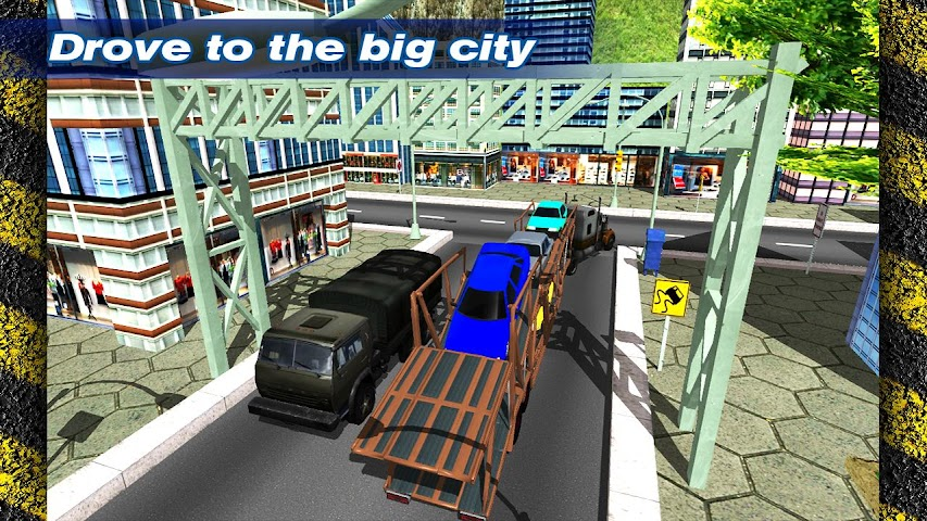 android Transporter Truck Trailer 3D Screenshot 1
