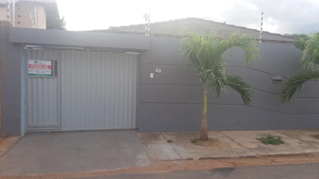 Casa com 2 dormitórios à venda no jardim caranâ, 150 m² por R$ 180.000 - Jardim Caranã - Boa Vista/RR