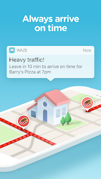 Waze - GPS, Maps & Traffic APK screenshot thumbnail 3