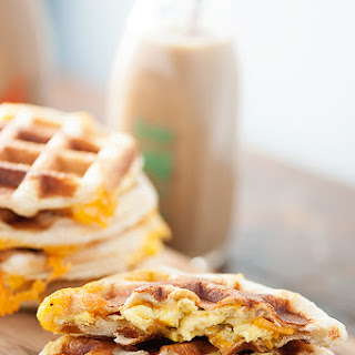 Stuffed Biscuit Waffles