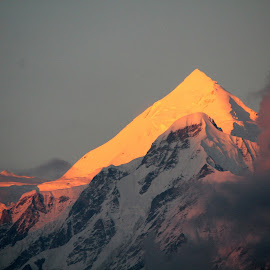 The Orange Icecream............. by Soutik Halder - Landscapes Mountains & Hills ( panchachulli, garhwal, india, munsyari, himalayas, kumaon, peaks )