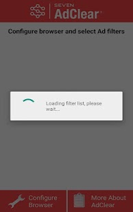AdClear Ad blocker for Samsung Screenshot