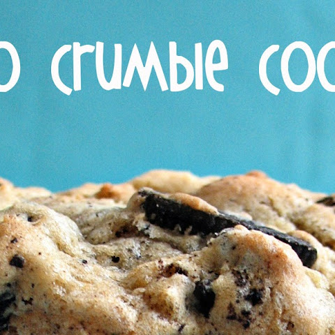 Oreo Crumble Cookies