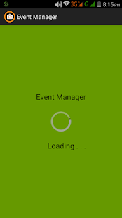 EventManager - screenshot