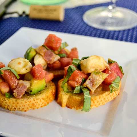 Loaded Bruschetta