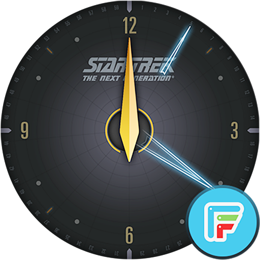 Star Trek official watchface 1 Screenshot 4