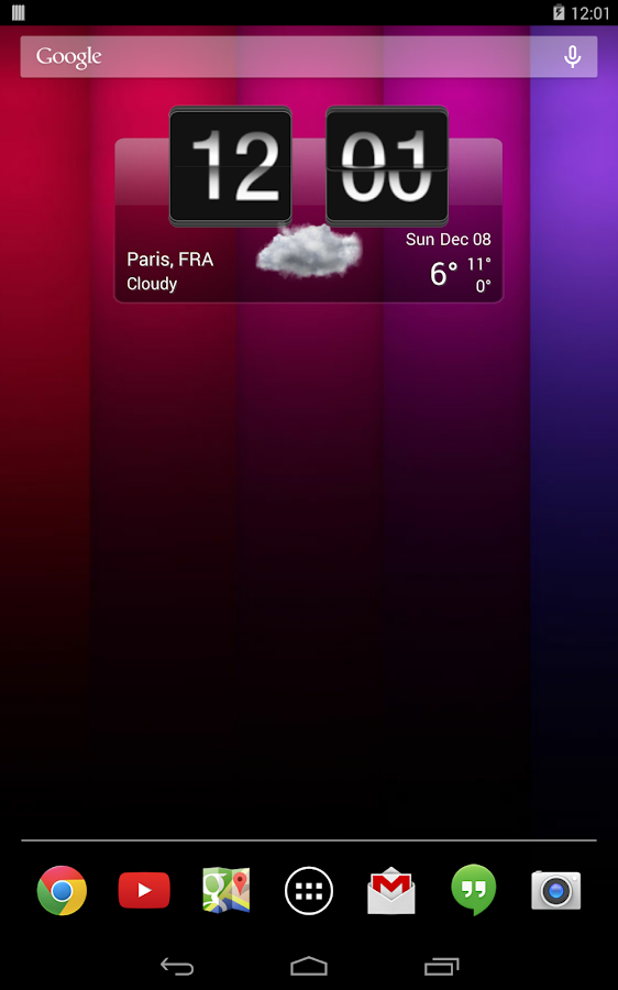 Sense Flip Clock & Weather Pro Screenshot 8
