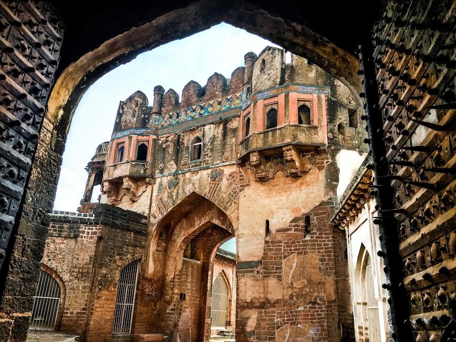 Main Enterence by Vaibhav Jain - Buildings & Architecture Statues & Monuments ( bidar, walls, fortm, ancient, door, entrance, main entrance,  )