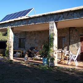 Spanish home by Jenny Noraika - Buildings & Architecture Homes ( cottage, stone, sunshine, solar, remote )