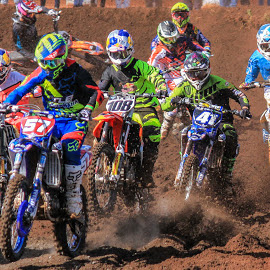 Motocross by Dirk Luus - Sports & Fitness Motorsports ( motorbike, motocross, motorcycle, dirt, motorsport,  )