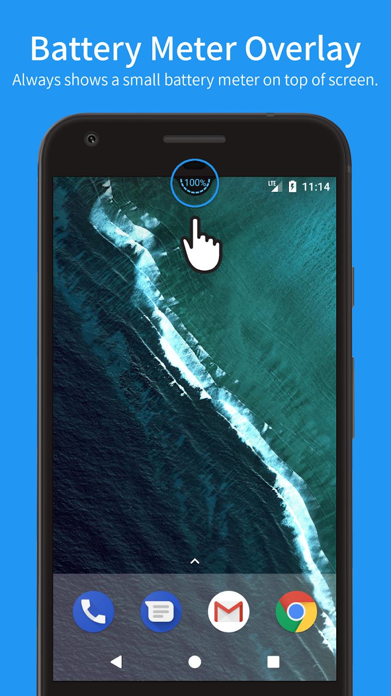 Battery Meter Overlay Screenshot 0