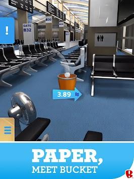 Paper Toss apk screenshot