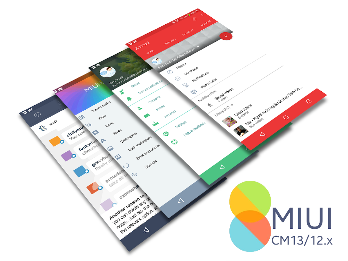 CM13/12.x MIUI V8 Theme Screenshot 2