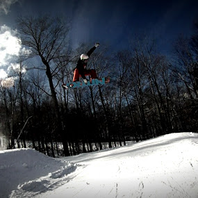 Big Air by Jeremy Putnam - Sports & Fitness Snow Sports