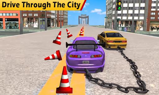 Chained Cars Stunt Race For PC