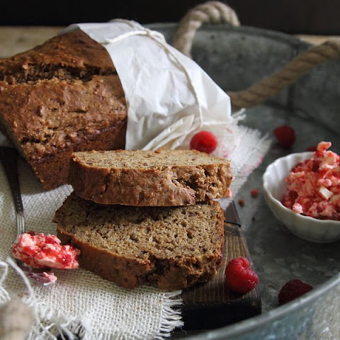 Cinnamon Sugar Banana Pecan Bread With Raspberry Butter