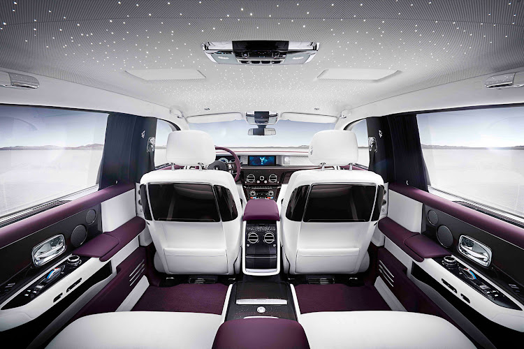 We are not sure about the purple and white, but the level of luxury and craftsmanship is incredible
