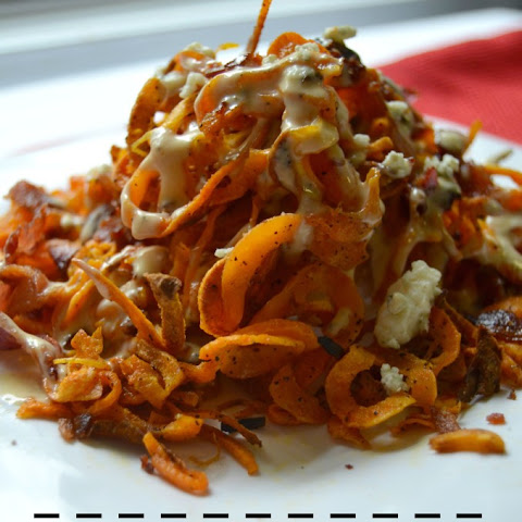 sweet potato fries with curried ketchup