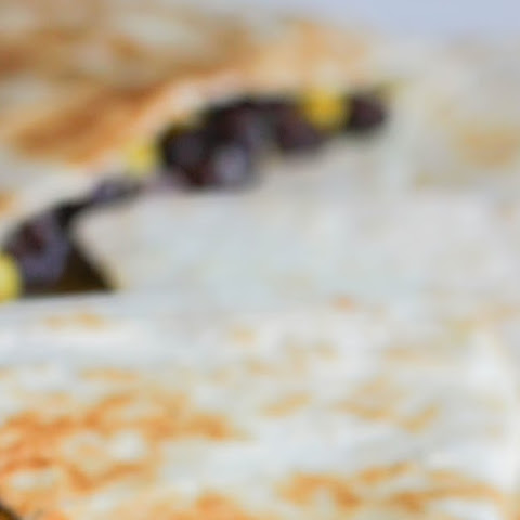 Black Bean, Corn & Pepperjack Quesadillas