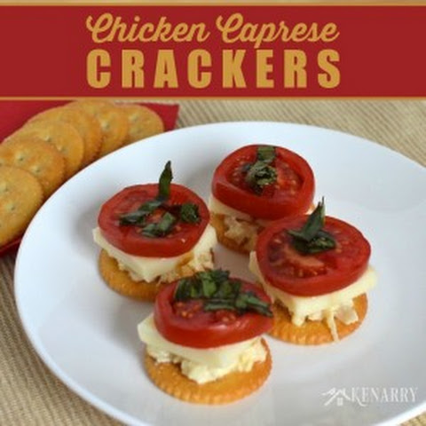 Chicken Caprese Crackers with RITZ® Crackers