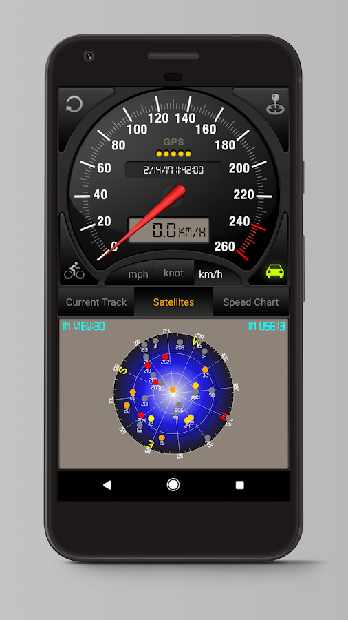 Speedometer GPS Pro Screenshot 2