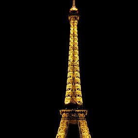 Eiffel Tower - Paris France by Paulus Soegriemsingh - Buildings & Architecture Architectural Detail (  )