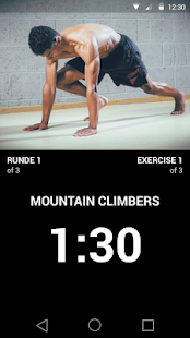 Full Control Bodyweight Fitness app screenshot for Android