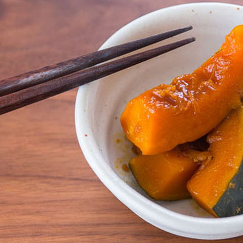 Sweet and Savory Kabocha Pumpkin