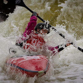 Through the drop by James Calvert - Sports & Fitness Watersports