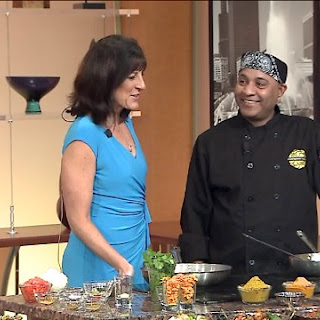 Marigold Maison chef Sunil Kumar makes eggplant curry