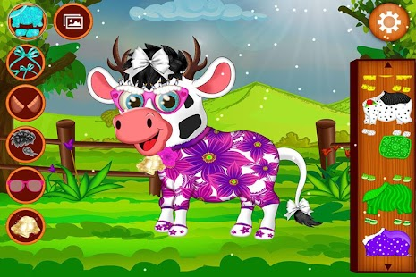 Baby Cow Salon - screenshot