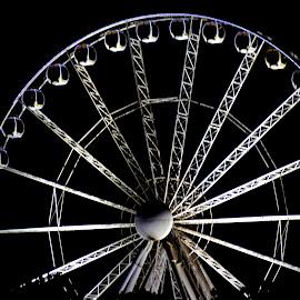 Delhi Eye by Sudhakar Kumar - City,  Street & Park  City Parks ( ride, giant wheel, park, india, delhi,  )