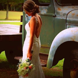 Beautiful Thoughts  by Pamm Smith - Wedding Bride