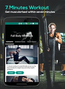7 Minute : Weight Loss Workout Fitness app screenshot for Android