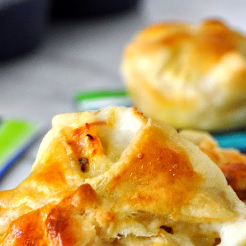 Artichokes and Pancetta Puff Pastry Cups