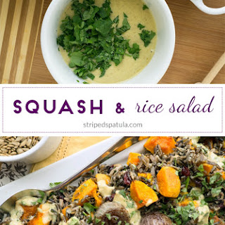 Roasted Butternut Squash and Wild Rice Salad