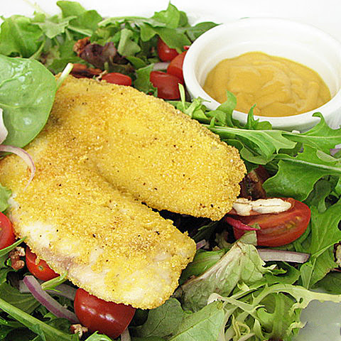 Southern-Fried Tilapia Salad