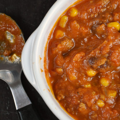 Slow Cooker Pumpkin Chili Mexicana