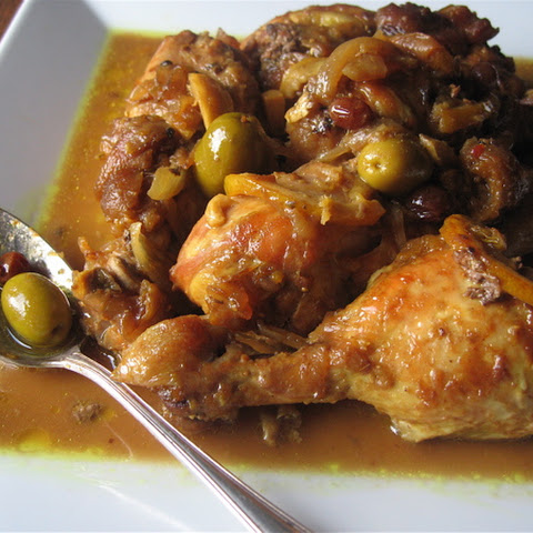 Chicken Tagine (Moroccan Chicken)