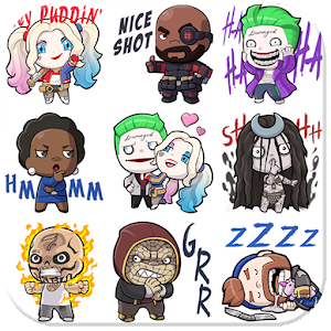 Squad Stickers & Emoji