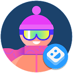 AR Stickers: Winter Sports For PC / Windows / MAC