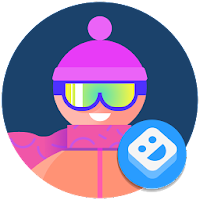AR Stickers: Winter Sports For PC