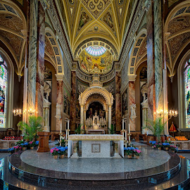 St. Josaphat Basilica Alter by John Williams - Buildings & Architecture Places of Worship ( milwaukee, church, basilica of st. josaphat, interior architecture, catholic cathedral, places of worship )