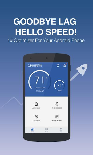Clean Master (Boost & AppLock) screenshots