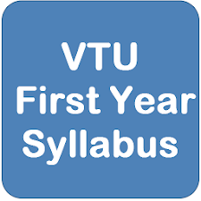 VTU First Year Syl