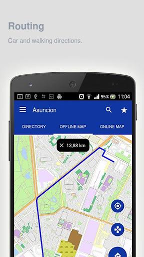 Asuncion Map offline screenshot 11
