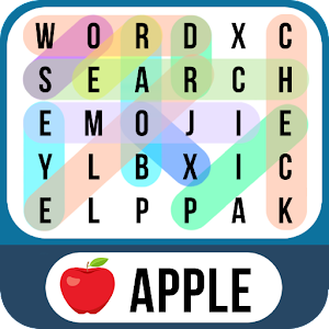 Word Search Emoji - Find Hidden Words